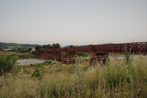 Ponte in ferro di Rocca di Neto - Ferrovia Val di Neto