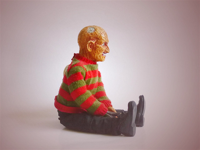 Talking Freddy Krueger Doll