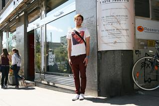 Marcel beim Pillaring 2