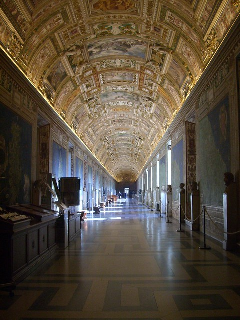 Vatican - The stunning Hall of the Maps