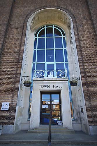 Town Hall Entrance, Royal Tunbridge Wells