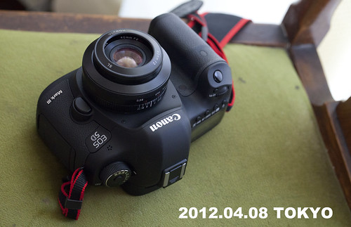 EOS 5D Mark III with フォクトレンダー