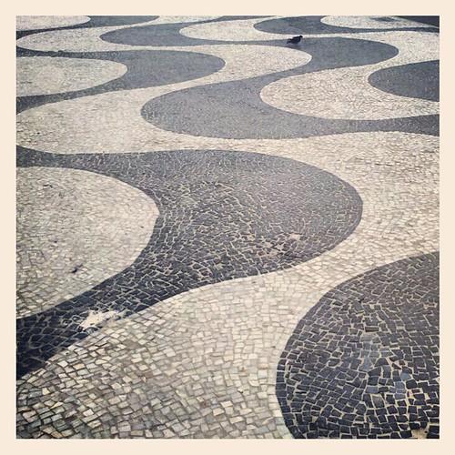 Calçadão de Copacabana by Marcos Nagelstein