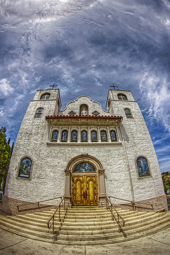 arizona church canon globe catholic az fisheye hdr luminance 50d qtpfsgui