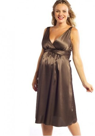 short maternity bridesmaid dress
