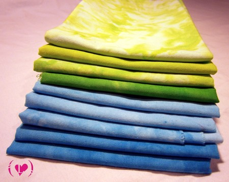 handdye fabric
