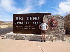 Big Bend entrance sign