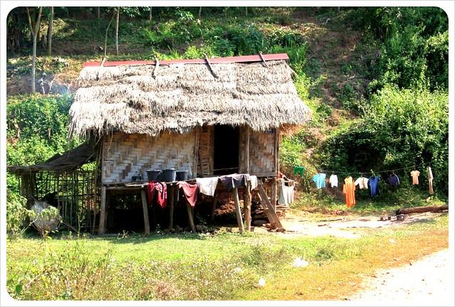 luang nam tha village house