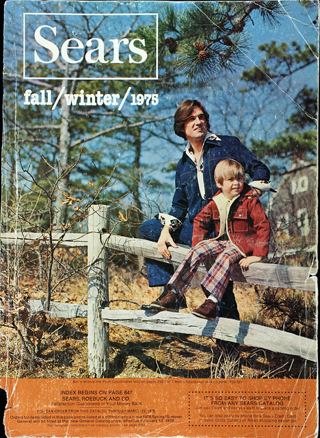 Sears Catalog Cover, Fall/Winter 1975