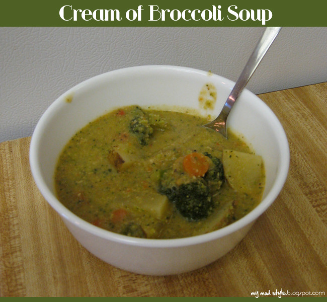Recipe Broccoli Soup 1