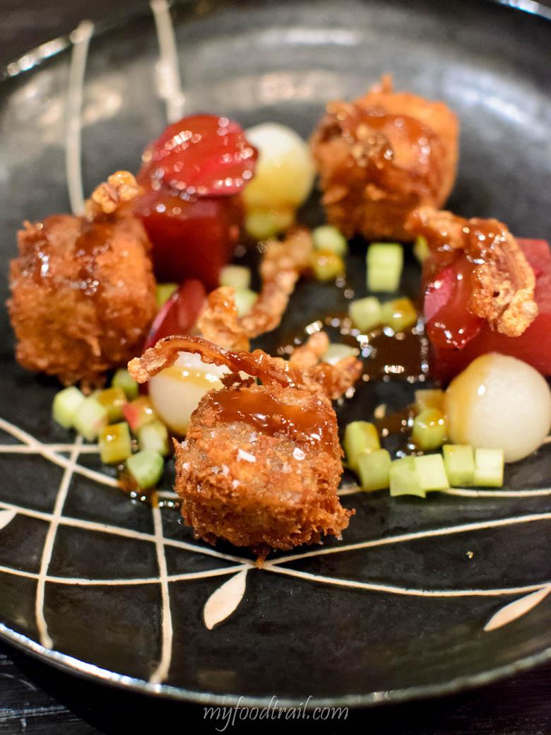 Mr Hive Kitchen & Bar - Crispy Little Pig $18