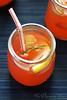 Limonade à la rhubarbe