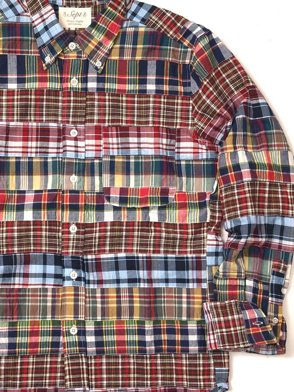 Sept / Patchwork B.D Shirt