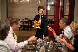 Lunch with Barack, June 15th 2012