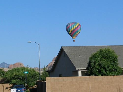 stripe balloon