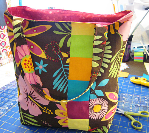 tropical box bottom tote 23