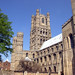 Ely Cathedral - South Façade of Nave and West Tower by john stanbridge