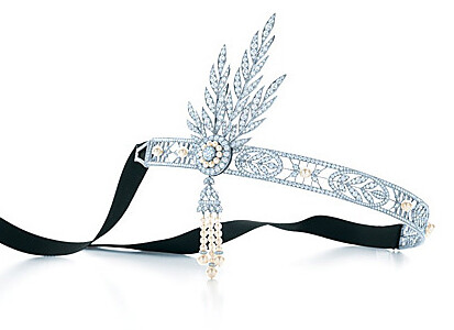 The Great Gatsby Savoy Headpiece Tiffany & Co