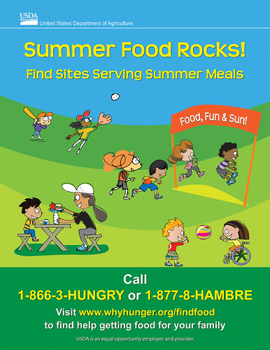 Distributing this promotional flier is great way to help promote summer meals. Find this flier and other outreach materials on our SFSP page.