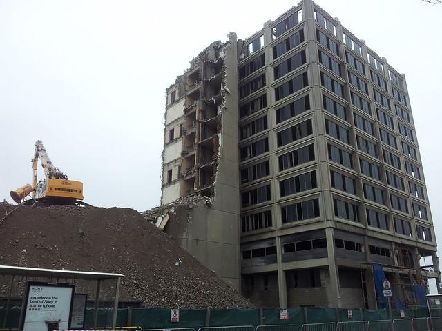 Tayside House demolition