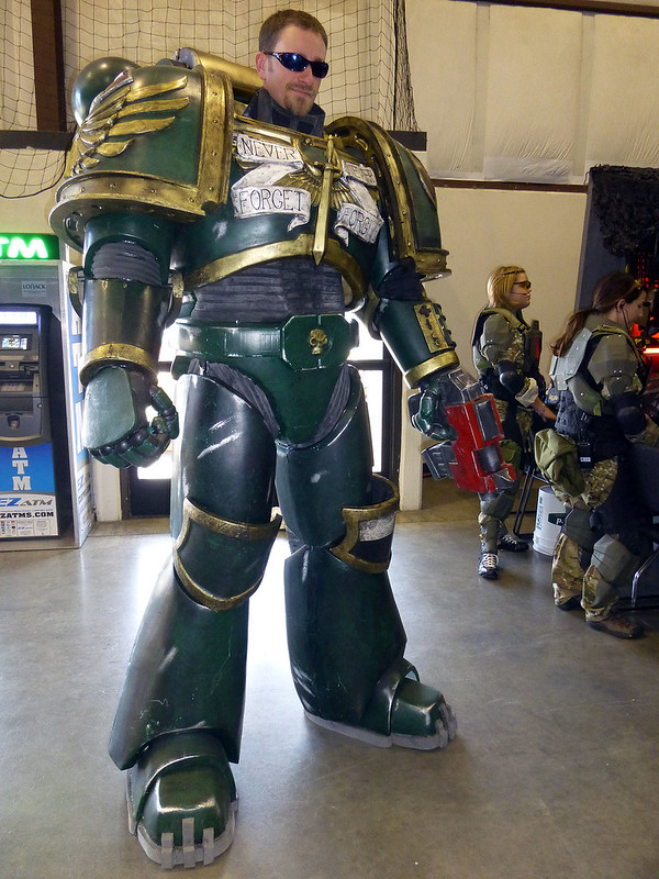 2013 Maker Faire Space Marine