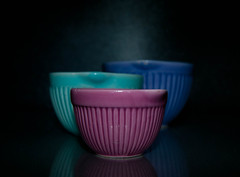 art, cup, cup, pottery, bowl, cobalt blue, ceramic, blue, pink, lighting, porcelain,