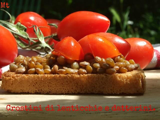 crostini lenticchie