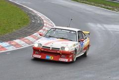 Opel Manta beim 24-Stunden-Rennen