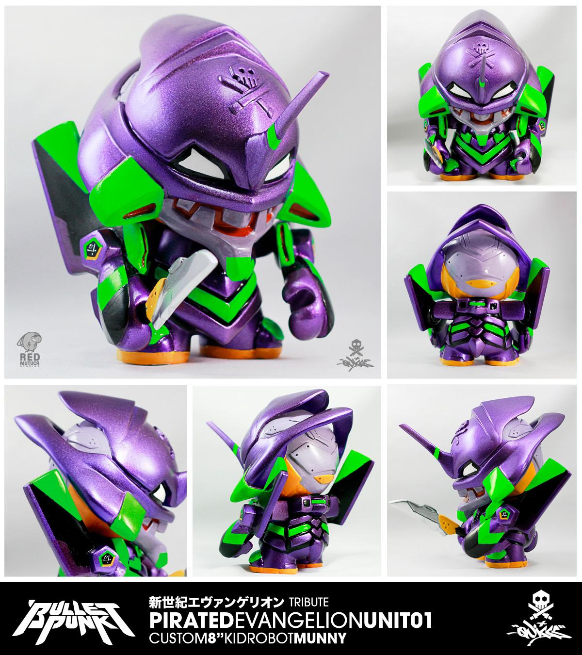 Custom Feature Bulletpunk Pirated Evangelion Unit 01