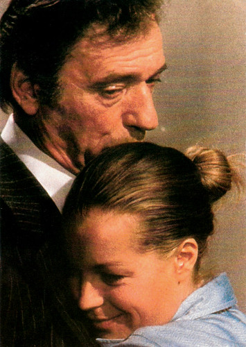 Romy Schneider & Yves Montand in Clair de femme