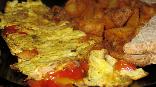 Turkey western omelet by Coyoty