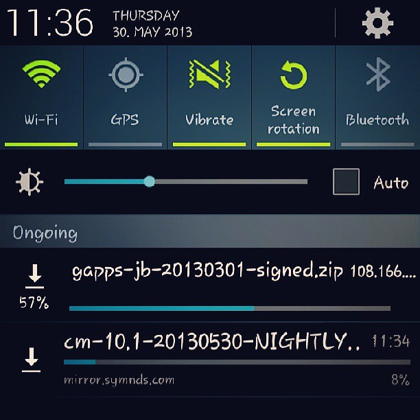 Samsung #Galaxy #S3 #SIII #Root #Custom #Rom #Google #Apps #Nightly #