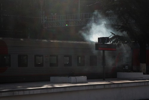 Russia has thousands of kilometres of electrified railways, but the majority of their sleeping carriages still use coal fired boilers for heating