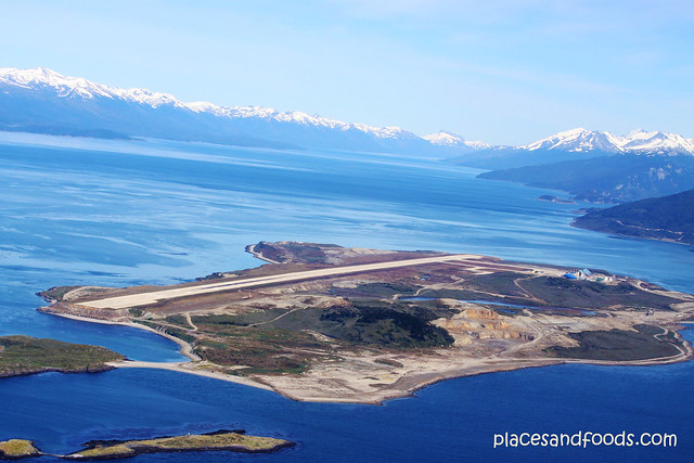 Ushuaia – Malvinas Argentinas International Airport aerial view