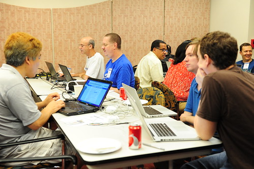 Code for America Brigade and AMS employees participate in the National Day of Civic Hacking