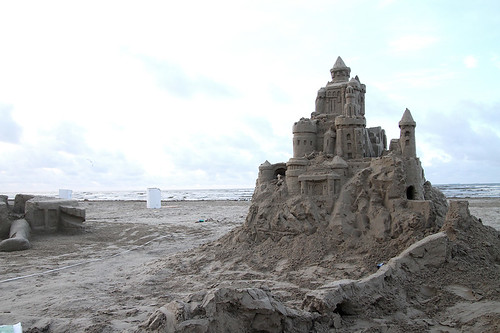 (June 2nd, 2013) Sand Castle, the morning after.