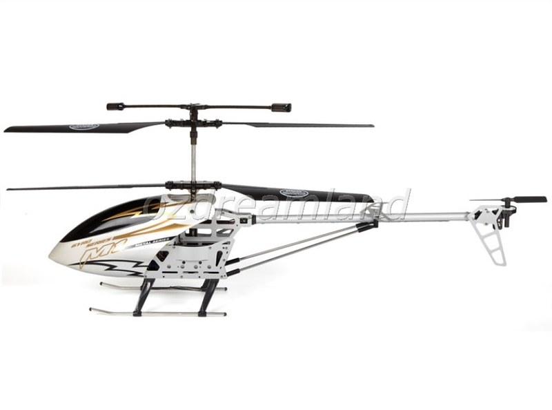 skytech m1 hurricane electric rc helicopter 3ch gyro led rtf huge size 80cm