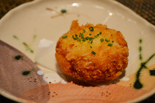 Crab Cake, Fat Cow, Singapore
