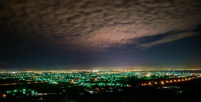 大岡山夜景