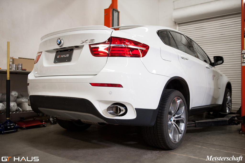 Meisterschaft Performance Exhaust Systems For Bmw E71 X6 3 5i N55