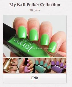 Nail Polish Collection Tip