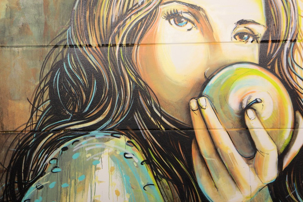 Alice Pasquini - Public Provocations at Colab Gallery (Weil am Rhein - Germany)