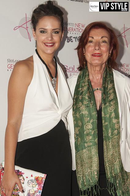 Salerm Cosmetic Francina New Faces Generation @ BCN Teatre Grec - Photocall