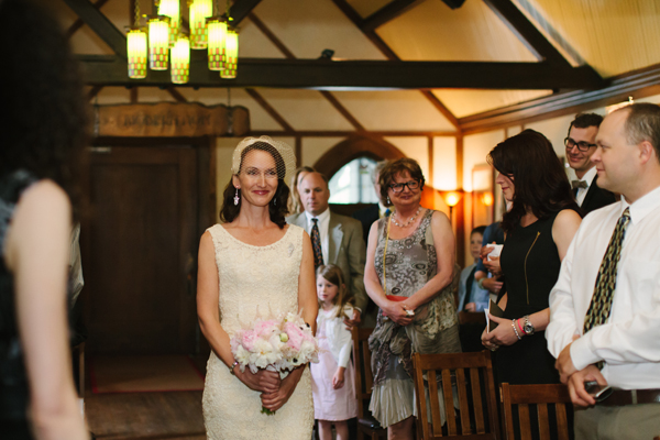 Corinn & Daniel marry at the Roycroft Inn