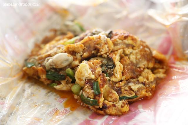 muar oyster omelette