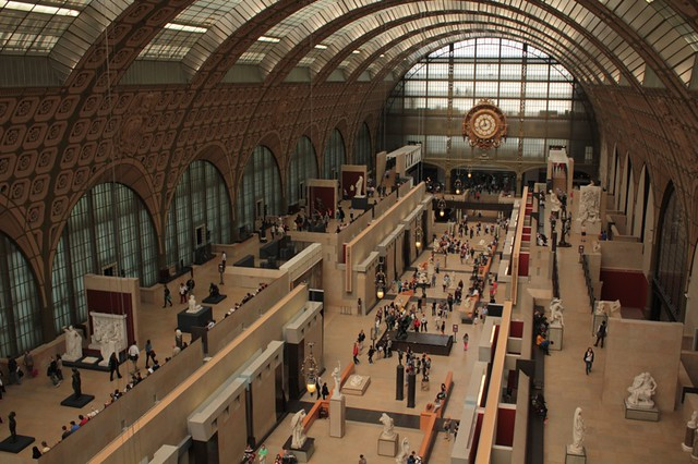 Musée d'Orsay: vista d'insieme