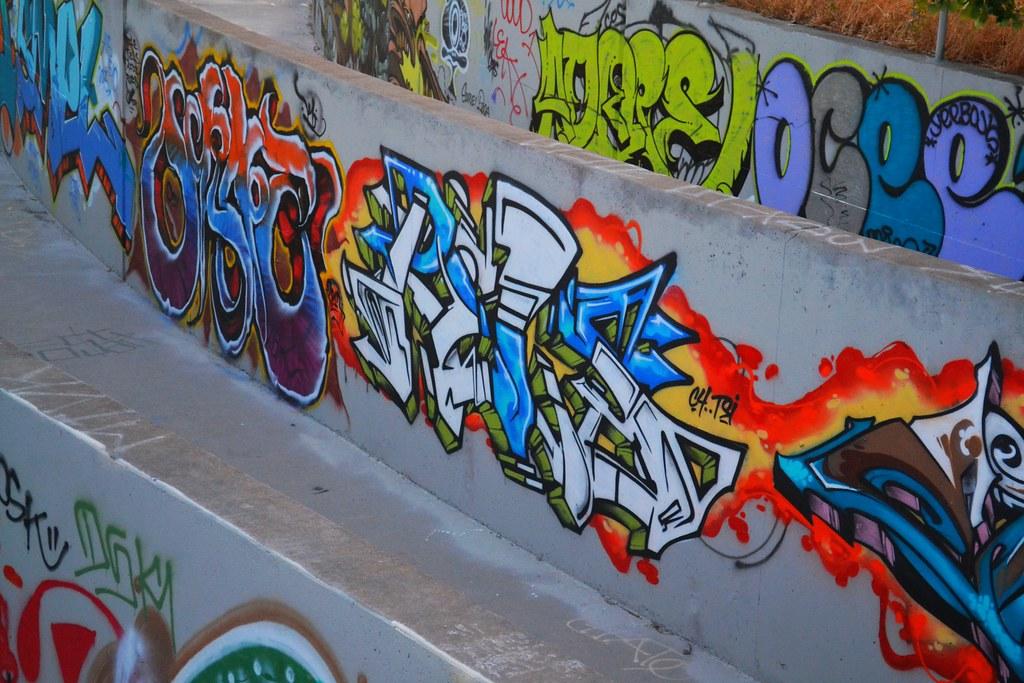 RELS, East Bay, Graffiti,