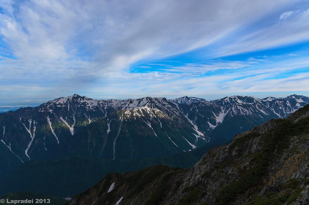 20130623 笠ヶ岳