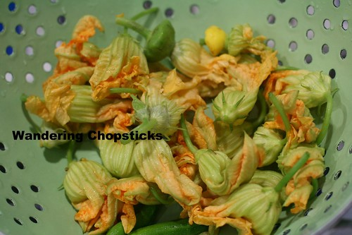 Bong Bi Nhoi Ca Tom Chien (Vietnamese Fried Squash Blossoms Stuffed with Fish and Shrimp) 10