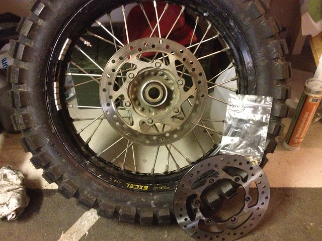 New brake rotor